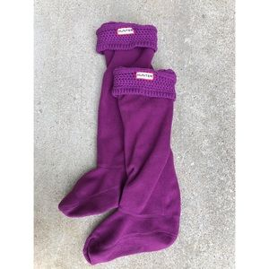 Purple Hunter Boot Socks